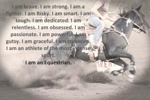 Horse Barrel Racing Quote