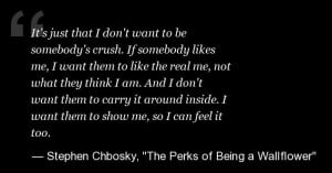 ... Being a Wallflower' Quotes: Life Lessons From Stephen Chbosky's Novel
