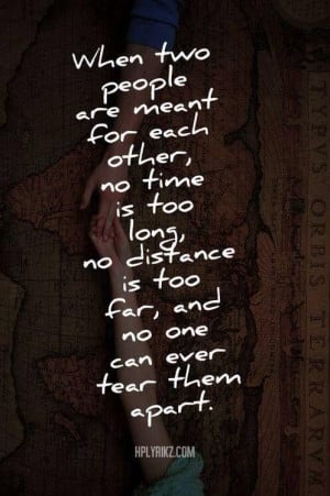 When two people are..... #LoveQuotes