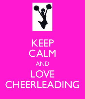 Cheerleading Quotes Cheer Post Keep Calm