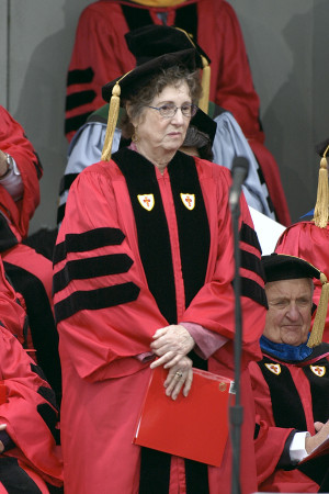 Patricia Meyer Spacks receives Honorary Doctor of Humane Letters