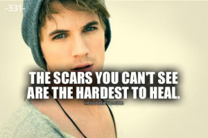 The scars you can't see are the hardest to heal.