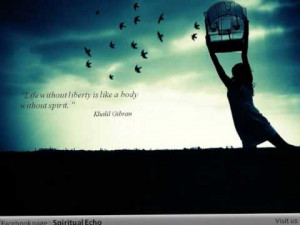Khalil Gibran best quotes (Fb page : Spiritual Echo ) | PopScreen