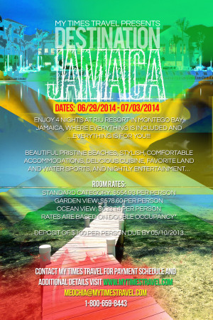 MTT JAMAICA FLYER