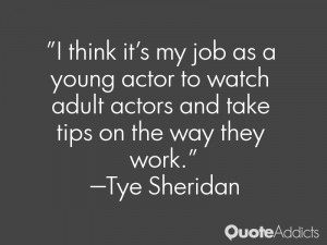 Tye Sheridan