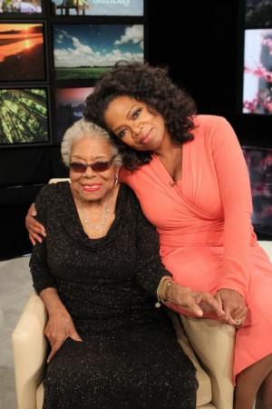 Dr. Maya Angelou visits Oprah on 'Super Soul Sunday'