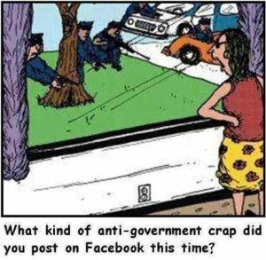 Anti-Government Facebook Posts
