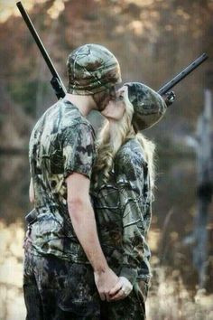 The couple that hunts together stays together♡ More