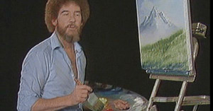 The great Bob Ross, ladies and gentlemen // funny pictures – funny ...