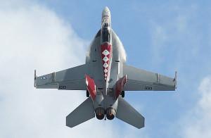 US Navy F/A-18F Super Hornet Wolodymir Nelowkin