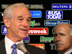 The Media, Ron Paul and a Third Rail named Vanunu Mordechai