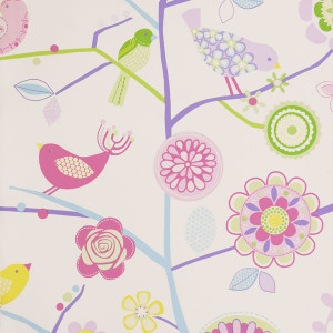 Prestigious Textiles Lapwing Wallpaper - Lavender 1941/805