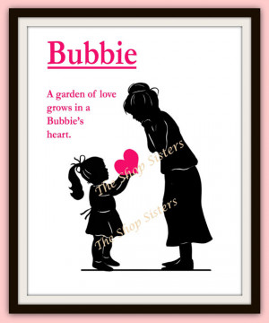 Mother's Day Grandmother Bubbie Gift Grandma Yiayia Nanny Nana ...