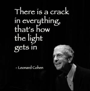 Leonard Cohen… A true visionary!… PC