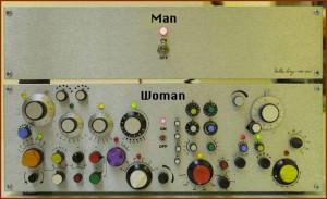 Man – Woman Control Panel