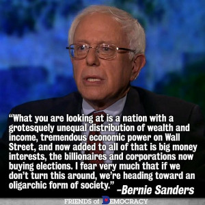Bernie Sanders: The Billionaires May Just Win