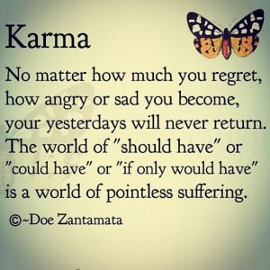 Bad Karma Quotes Sayings