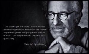Movie Directors, Spielberg Quotes, Film Quotes, Quotes Sayings ...