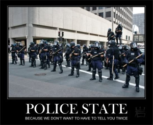 It's like Officer Cartman is always threatening: