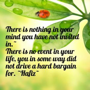 Goodstuff Quote ~ Hafiz~