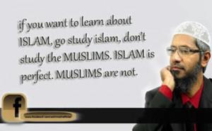Muslim scholar Dr Zakir Naik Quotes and Sayings