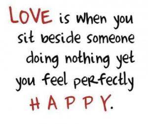 Love is happy!   My Husband, My Best Friend