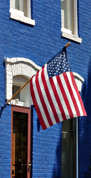 Capitol Hill ~ American Flag