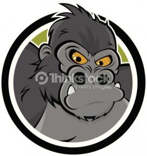 Angry Gorilla Vector Art 148485349   Thinkstock