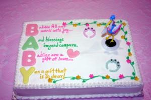 baby shower baby shower cake sayings girlfriend baby shower cake baby ...