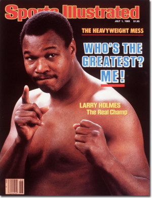 Larry Holmes, Boxing,