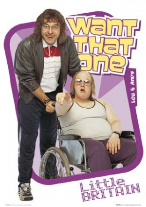 ... TV, Little Britain sets a new standard for OUTRAGEOUS British comedy