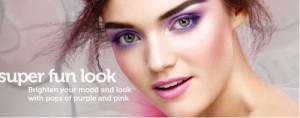 Ashley With Purple Eyes