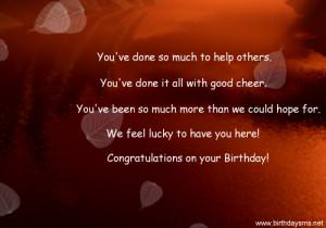Employee Happy Birthday Quotes