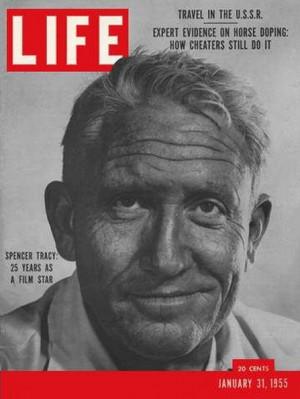 Spencer Tracy – LIFE – January 1955