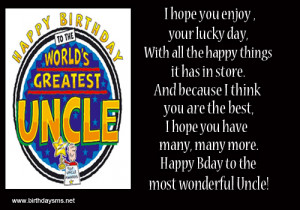 ... birthday wishes for uncle and happy birthday greetings for uncle
