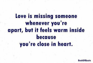 Love Quotes About Missing Someone wallpaper