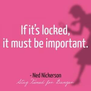 Nancy Drew Quotes- Ned Nickerson