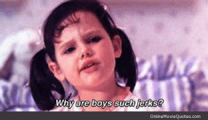 Funny quote by Darla from the family friendly movie The Little Rascals ...