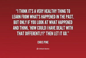 Chris Pine Quotes