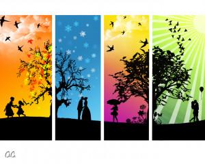 The Four Seasons - My style by onutzaC