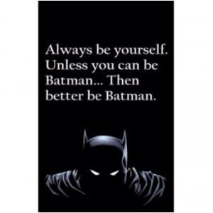 Best Batman Quotes Ever