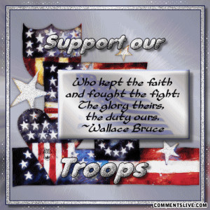 Support Our Troops quote #2
