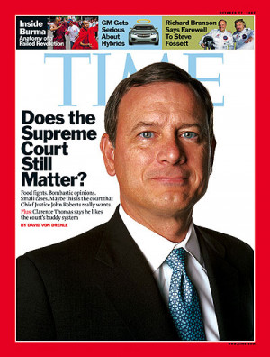 When Chief Justice John Roberts appeared before the Senate in 2005 for ...