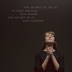 WordSwag Favorite Ann Voskamp Quote