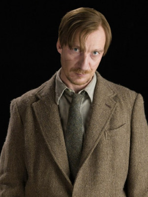 people Harry Potter actors cast Remus Lupin David