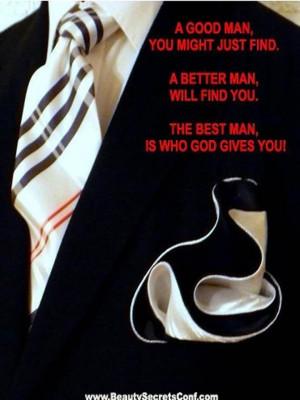 Good Man vs Better Man vs Godly man