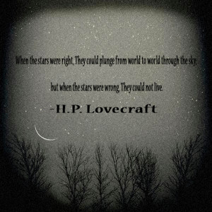 Lovecraft Quote by TheTravelerWind