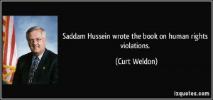 Saddam Hussein Quotes