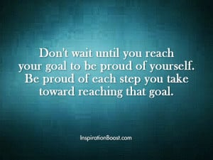 Be Proud of Yourself Quotes