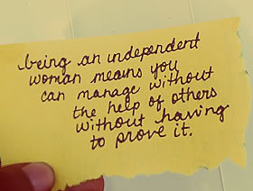 Being Independent Quotes & Sayings